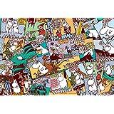 300ピース ジグソーパズル ムーミン コミックス ニョロニョロ(26x38cm)
