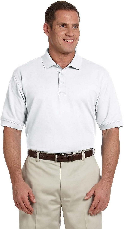 Devon & Jones Tall Pima Pique Short-Sleeve Polo (D100T)