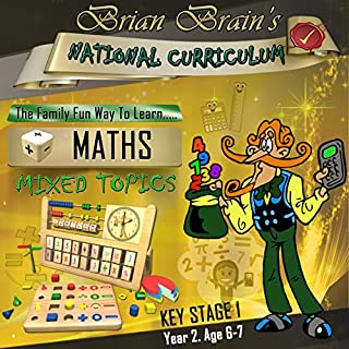 Brian Brain's National Curriculum KS1 Y2 Maths - Mixed Topics cover art