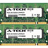 4GB KIT (2 x 2GB) for Dell Latitude Series 5400 5500 6400 6500 ATG E6400 D830 E5400 E5500 E6400 E6400 ATG E6400 XFR E6500. SO-DIMM DDR2 Non-ECC PC2-6400 800MHz RAM Memory. Genuine A-Tech Brand.