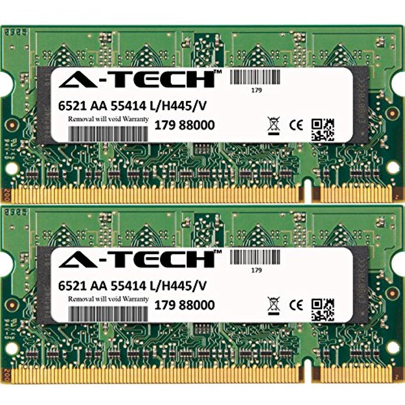 4GB KIT (2 x 2GB) for Sony Vaio PCG Series PCG-394L. SO-DIMM DDR2 Non-ECC PC2-5300 667MHz RAM Memory. Genuine A-Tech Brand.