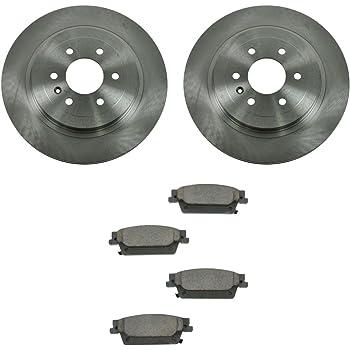 Front Ceramic Disc Brake Pads /& 2 Rotors Kit for 99-01 Lexus RX300