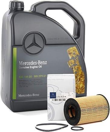Clase E 200//220//270 CDI Filtro de aceite ORIGINAL de Mercedes-Benz A611 180 00 09 para la Clase C