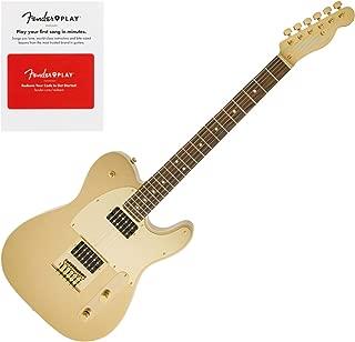 Squier J5 Telecaster, Laurel Fingerboard, Frost Gold w/Fender Play Prepaid Card