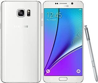 Samsung Galaxy Note 5 N920A 64GB GSM Unlocked - White (Renewed)