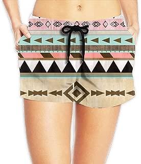 Hlcenng Bonsai Tree1 Pattern Womens Printing Beach Board Shorts Summer Casual Pockets Beachwear