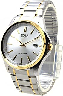 Casio Men's Classic Silver Analog Dial Two Tone Stainless Steel Band Watch [MTP-1183G-7A]
