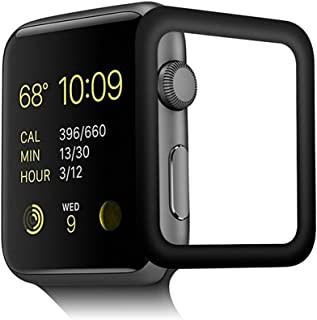 Apple Watch Series 4 44mm Screen Protector Full Screen Coverage, 2 Pack HD Claer Full Curved Screen Film Compatible iWatch...