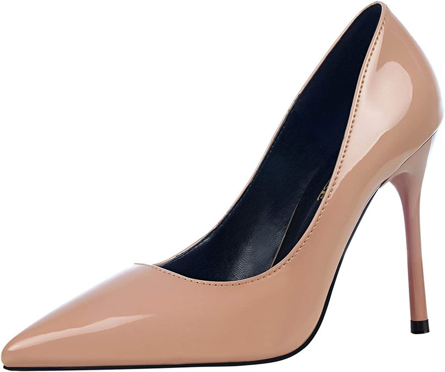 High Heels New Women shoes Patent Leather Heels Sexy Women Pumps Fashion Office shoes Wedding shoes