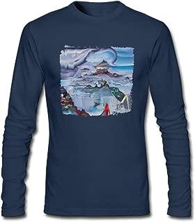 Hefeihe DIY Case Lang Veirs Case Lang Veirs Men's Long-Sleeve Fashion Casual Cotton T-Shirt