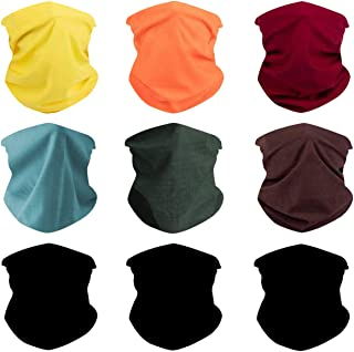 Toes Home Outdoor Magic Headbands Bandana Scarf Neck Gaiter Hairwraps Face Mask UV Resistence Seamless Headwear 9PCS