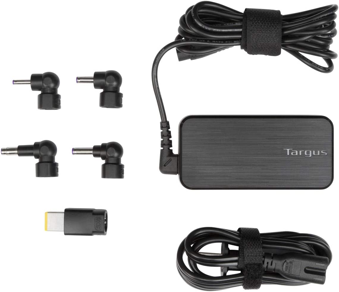 Targus 65W AC Gifts Ultra-Slim Universal 6-Foot Ca Laptop Charger with High material