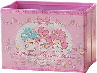 Kerr's Choice Collapsible Storage Bin My Melody Little Twin Stars Foldable Baskets | Kawaii Office Desk Room Decoration Cu...