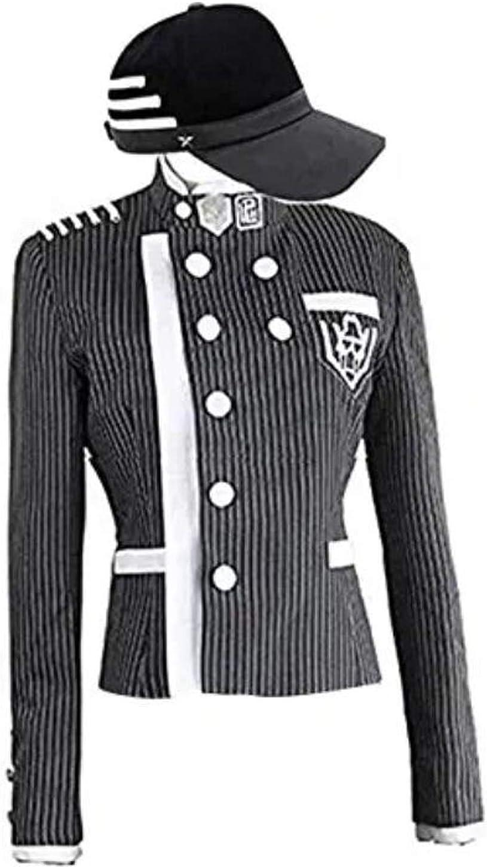 Amazon Com Poetic Walk Danganronpa V3 Saihara Shuichi School Uniform Cosplay Costume Boys Jacket Hat Coat Clothing My choices were shuichi saihara and kaito momota. poetic walk danganronpa v3 saihara shuichi school uniform cosplay costume boys jacket hat coat