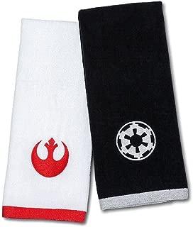 ThinkGeek Star Wars Hand Towel Set - Imperial & Rebel