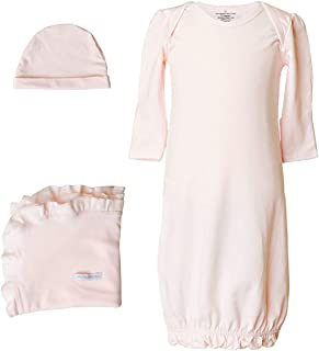 One Small Child Girls Three-Piece Bamboo Infant's Layette Sets