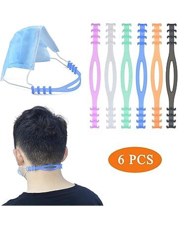 PULUZ per proteggere le orecchie allevia la pressione 20 accessori per la casa 20 ganci per accessori per maschere Nero comodi con gancio a S regolabili e antiscivolo