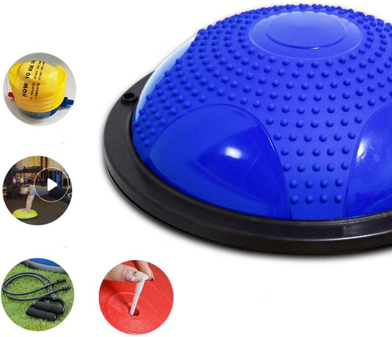 Wly&Home Ausgewogener Trainer Mit Rutschfestem Massagedesign, Blau, 60 Cm Durchmesser