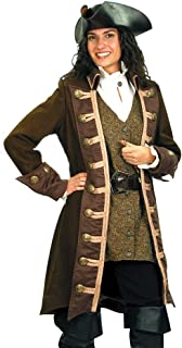 Pirate Clothing for Women-Mary Read Pirate Coat-Halloween Costume