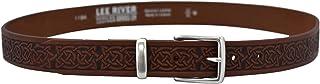 Men's Brown Celtic Leather Belt Owens