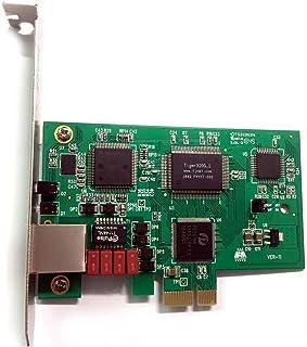 TE110PE 1ポート J1/T1/E1 ISDN PRI,PCI Express(PCI-E) Asteriskインターフェースカード, Issabel,Freepbx,AsteriskNow .IP PBX SIP電話ソリューション