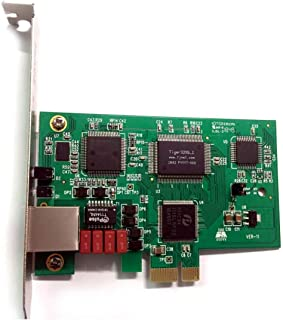 Single Span T1 Card / E1 Card ISDN PRI T1 Board TE110E Supports Asterisk Issabel FreePbx AsteriskNow .ISDN ss7 for Phone System Call Center
