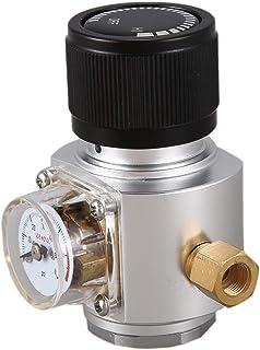 SNOWINSPRING CO2ミニガスレギュレーターCO2充電器キット0-90 PSI Corny Keg充電器、ヨーロッパのビールケジェレーター用