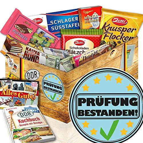 Prüfung bestanden / Geschenkidee DDR Schokolade / Geschenk bestandene Prüfung