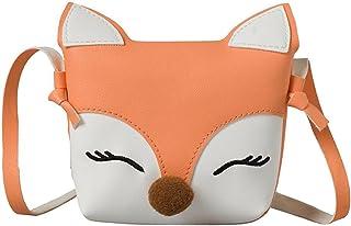 d1cd8a5a91 Everpertuk Mini Sac à Bandoulière Enfant Fille Fox Mignon Portefeuille Sacs  à Main d'épaule
