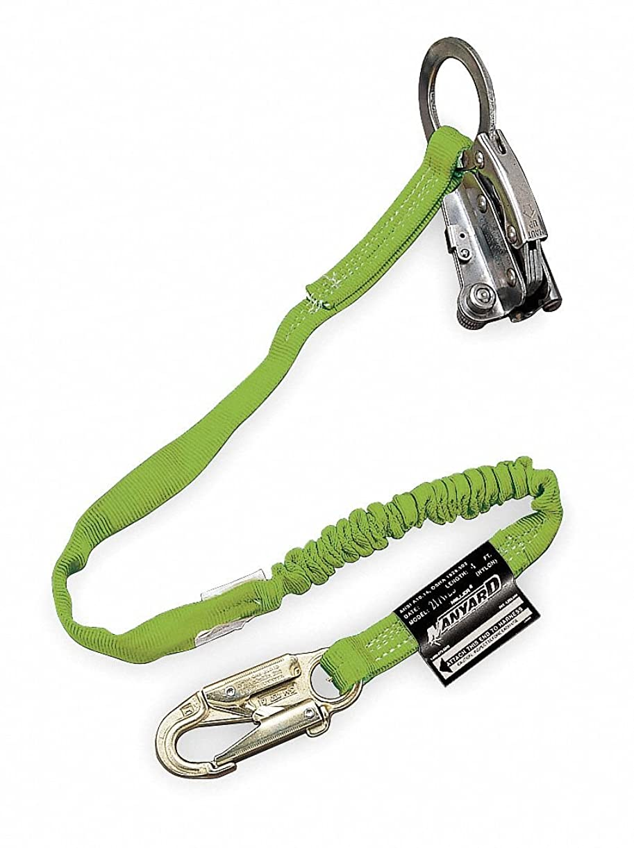 観客プラグ式Rope Grab, with Shock-Absorbing Lanyard 141[並行輸入]