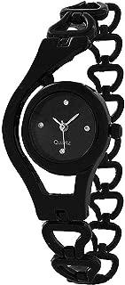 New Raiyaraj Embroidery Analogue Black Dial and Metal Belt Women's Watch
