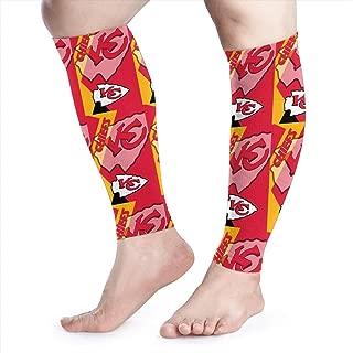 Dalean Kansas City Chiefs Comfort Calf Compression Sleeve - Leg Compression Socks