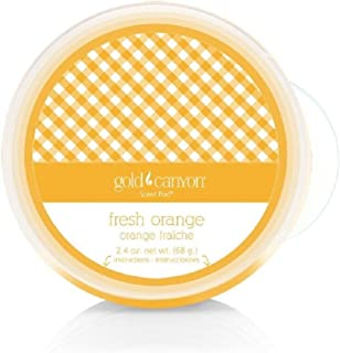 Gold Canyon Candles Scent Pod Wickless Candle (Fresh Orange) ~ Notes of Orange, Grapefruit & Vanilla