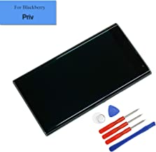 for BlackBerry Priv Replacement Amoled Touch Screen Full Assembly LCD Black with Frame + Tools + Adhesive