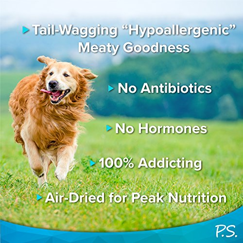 PS for Dogs Hypoallergenic Jerky Bite Dog Treats