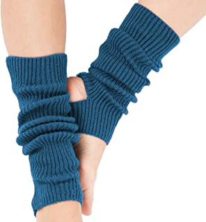 Ecroon, Calentadores Calientes piernas mujer,Calentador de Piernas para el Yoga del Deporte,ideal para regalo,Niña Calcetines de invierno