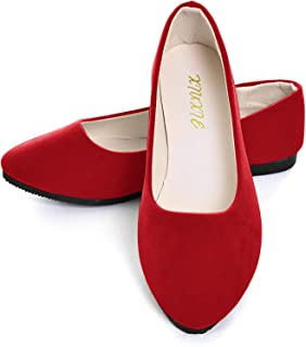 Red / Flats / Shoes