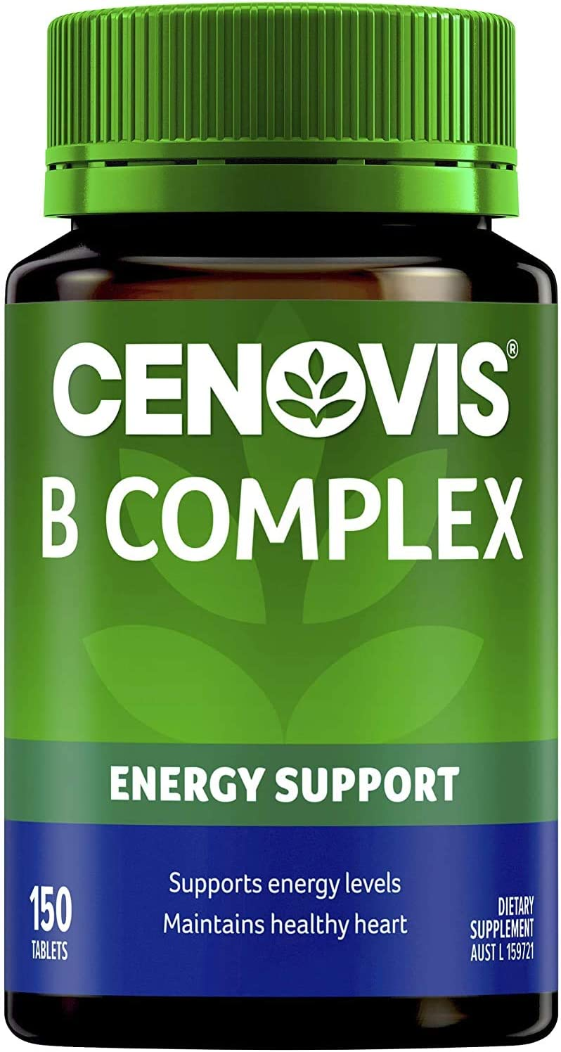 Cenovis Max free 72% OFF B Complex 150 Tablets