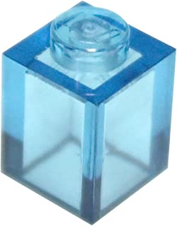 LEGO Parts and Pieces: Transparent Light Blue 1x1 Brick x100