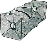 normani Reuse für Köderfische Kleinfische mit Reißverschlussöffnung und Futternetz -...