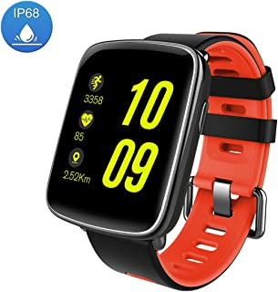 Fitness Tracker Activity Monitors Watch Bracelet Heart Rate Sleep Health Tracker Step Counter Notification Alerts Smart Wristband for iPhone/Android Smartphones