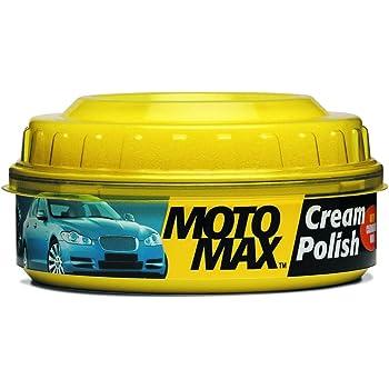 PIDILITE Motomax Bike & Car Cream Polish with Carnuba Wax and Micro Polishing Agents, (230gm)