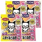 【Amazon.co.jp限定】ライオン (LION) ニオイをとる砂 猫砂 フローラルソープ 5.5Lx4袋 (ケース販売)