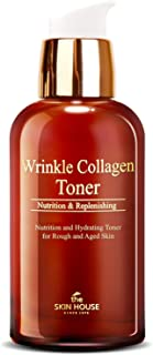 [THE SKIN HOUSE] Wrinkle Collagen Toner(130ml / 4.40 fl oz) Anti-aging essential toner, firming skin booster, lifting wrin...