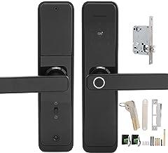 Smart Door Lock Beveiliging Smart Lock Vingerafdrukkaart Wachtwoordsleutels Ontgrendeling WIFI Elektronische handgreep met...