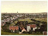 Photo General view Hildesheim Hanover A4 10x8 Poster Print