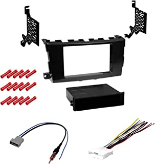 CACHÉ KIT450 Bundle with Car Stereo Installation Kit for 2013 – 2015 Nissan Altima – in Dash Mounting Kit, Harness, for Single or Double Din Radio Receiver (4 Item)