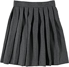 Betty Z Girl's School Uniform Pleated Skirt