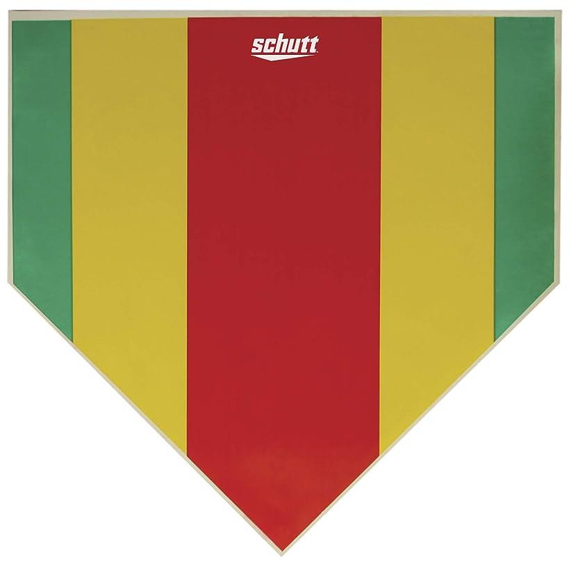 Schutt Sports Baseball/Softball StrikeZone Home Plate Pitching Aid