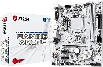 MSI H310M Gaming Arctic - Placa Base Performance Gaming (LGA 1151, 1 x PCI-E 3.0 x 16 Slots, 2 DIMMS, 4 x SATA) Blanco [Modelo Antiguo]